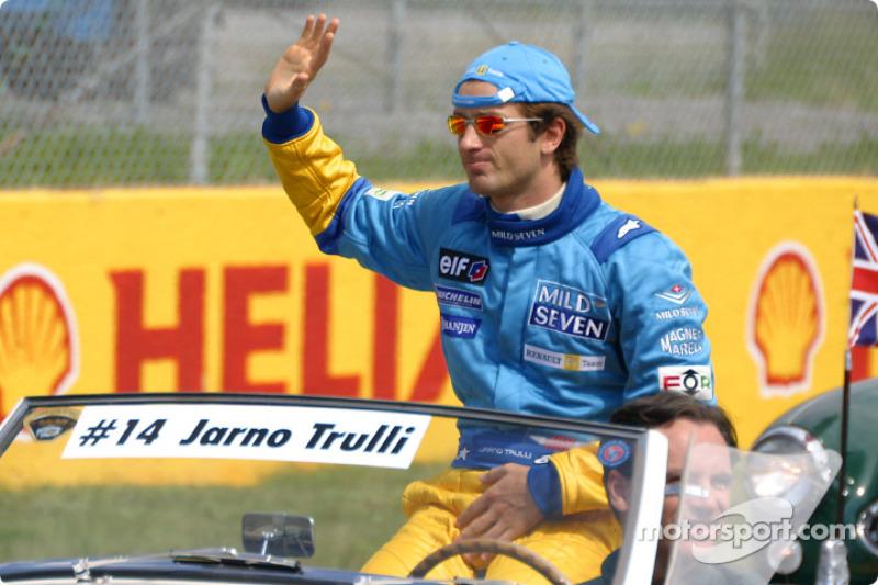 Desfile de pilotos: Jarno Trulli