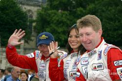 Didier de Radigues, Milka Duno and John Graham
