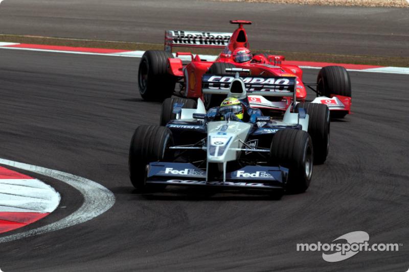 Ralf Schumacher y su hermano Michael