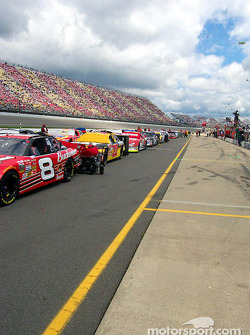 Looking down the line on the grid