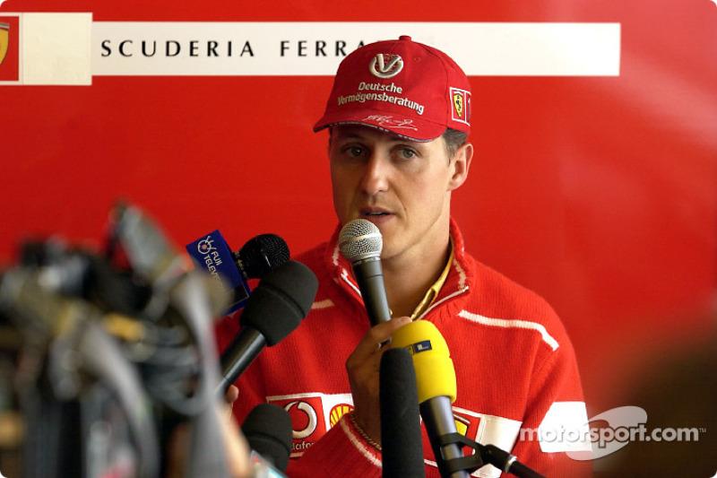 Conferencia de prensa de Ferrari: Michael Schumacher