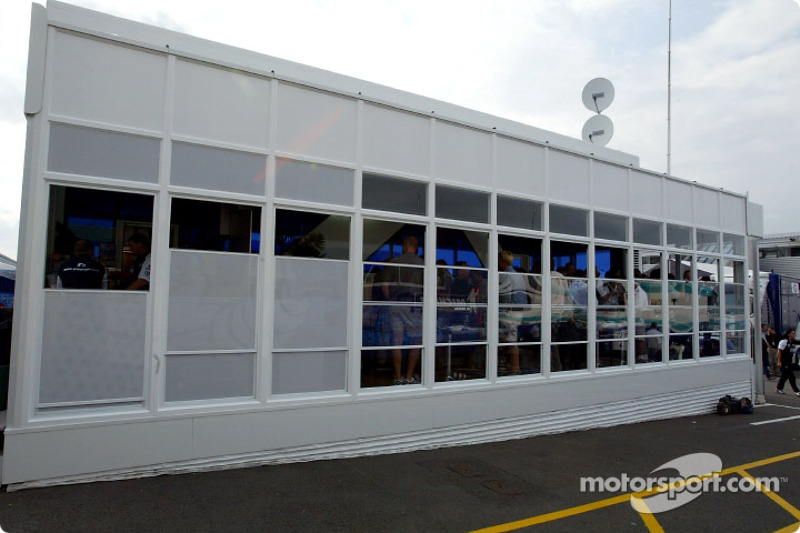 Area de hospitality de Williams-BMW