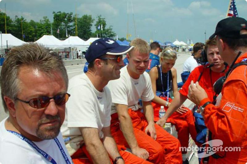 David Brabham et Jan Magnussen