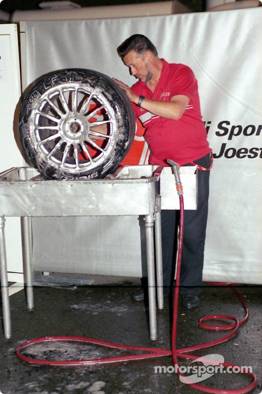 Miembro del Audi Sport Team Joest
