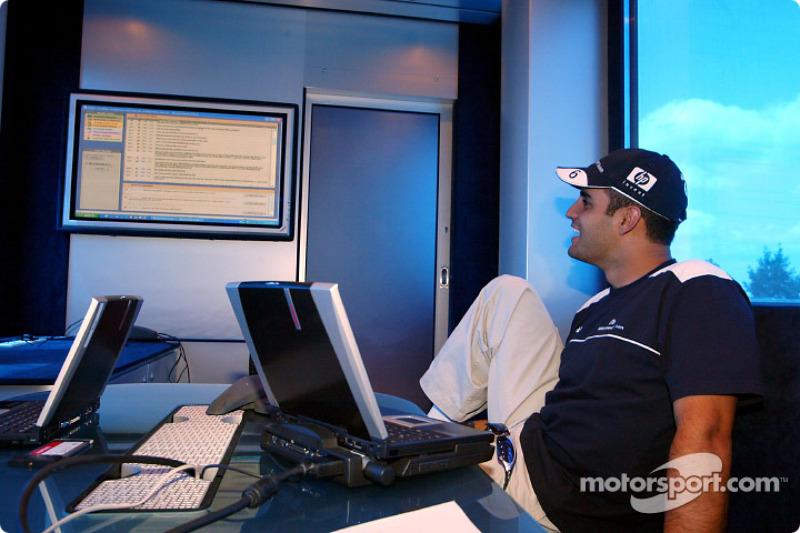 Web chat con los aficionados del Williams-BMW: Juan Pablo Montoya