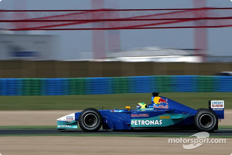Феліпе Масса, Sauber Petronas
