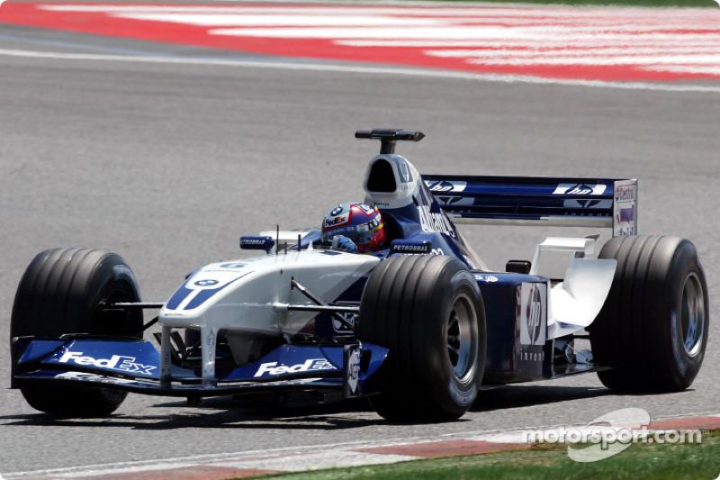 Хуан-Пабло Монтойя, Williams BMW