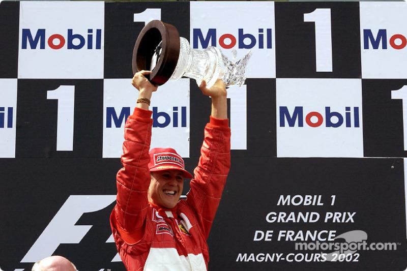 Michael Schumacher, Scuderia Ferrari, campeón del mundo de F1 2002