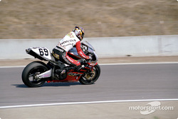 AMA Suprebike points leader Nicky Hayden