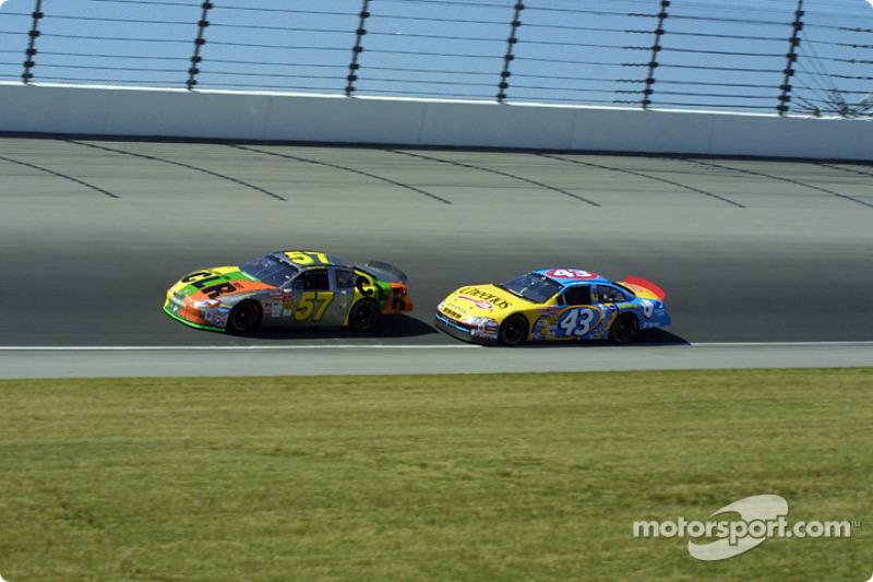 Stuart Kirby y John Andretti