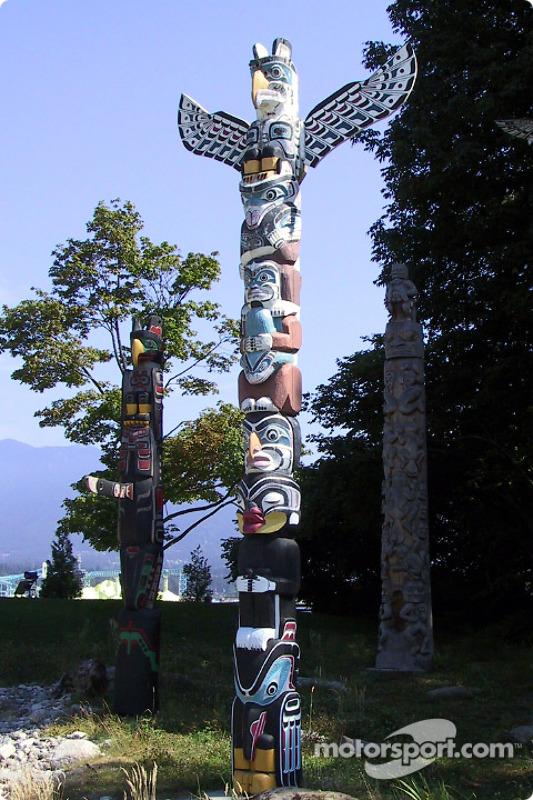Le totem des British Columbia Indians