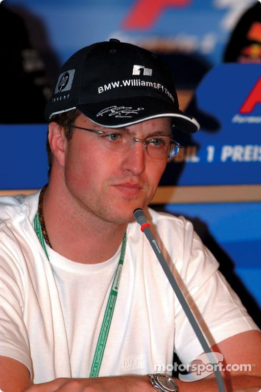 Conférence de presse FIA du Jeudi : Ralf Schumacher