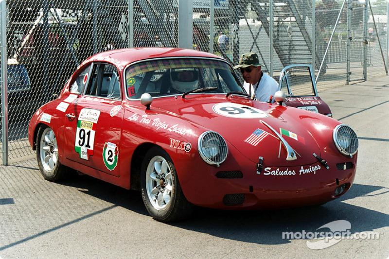 Pan American Porsche