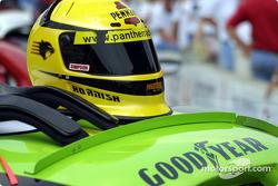 Sam Hornish Jr.'s helmet