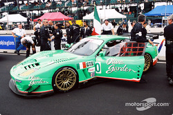 Team Olive Garden on the grid