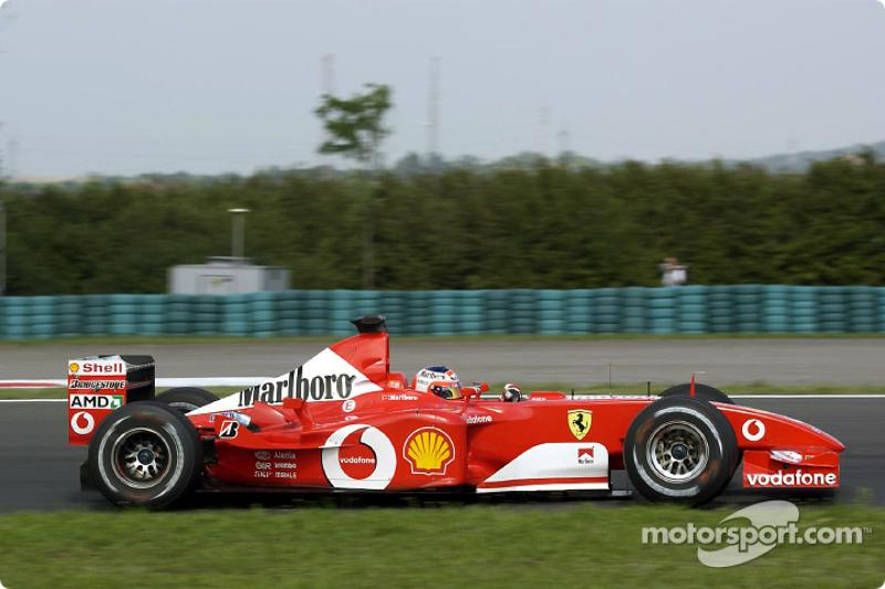 2002-2003: Ferrari F2002 (15 побед, титул в КК в 2002-м)