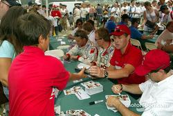 Autograph session: Tom Kristensen