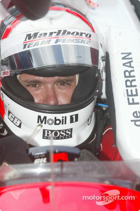 Le vainqueur Gil de Ferran