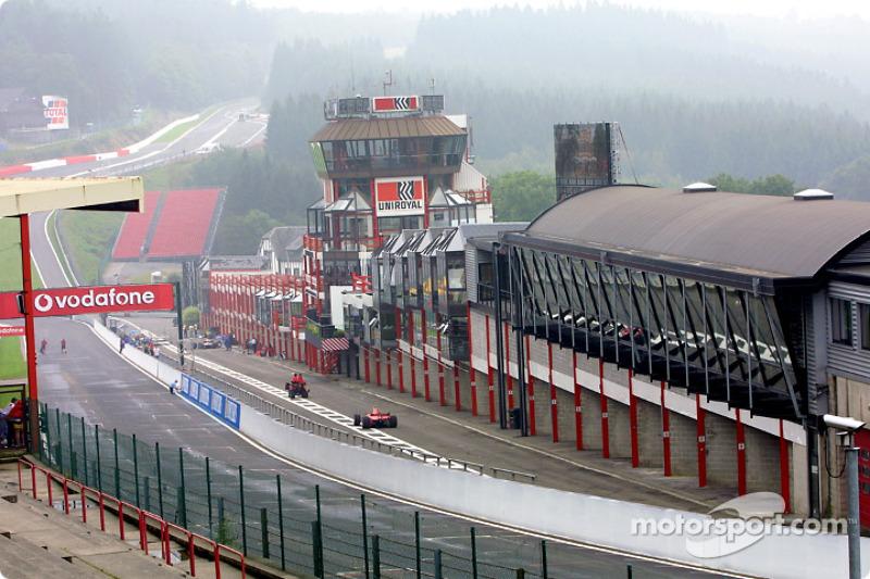 El hermoso Spa-Francorchamps