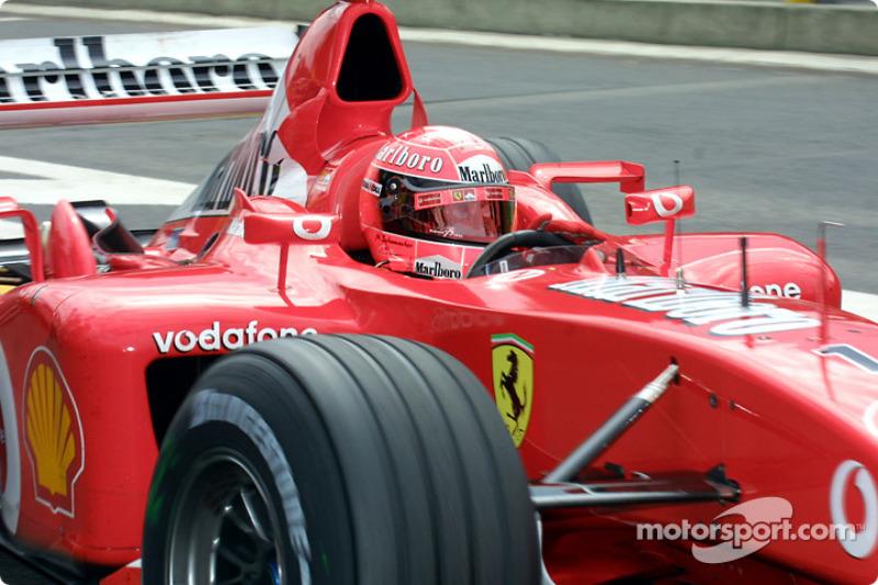 #48 GP de Belgique 2002 (Ferrari F2002)
