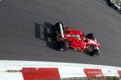 Testfahrten in Monza, September