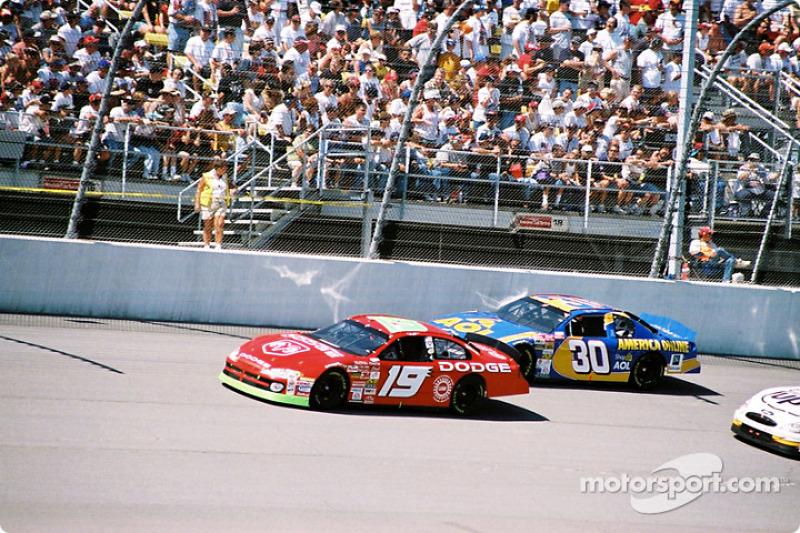 Jeremy Mayfield y Jeff Green