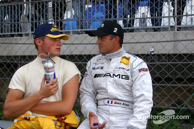 Martin Tomczyk and Jean Alesi