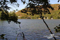At the back of Mont-Tremblant paddock: Lake Moore