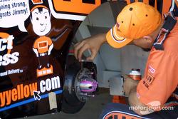 Wheel marking