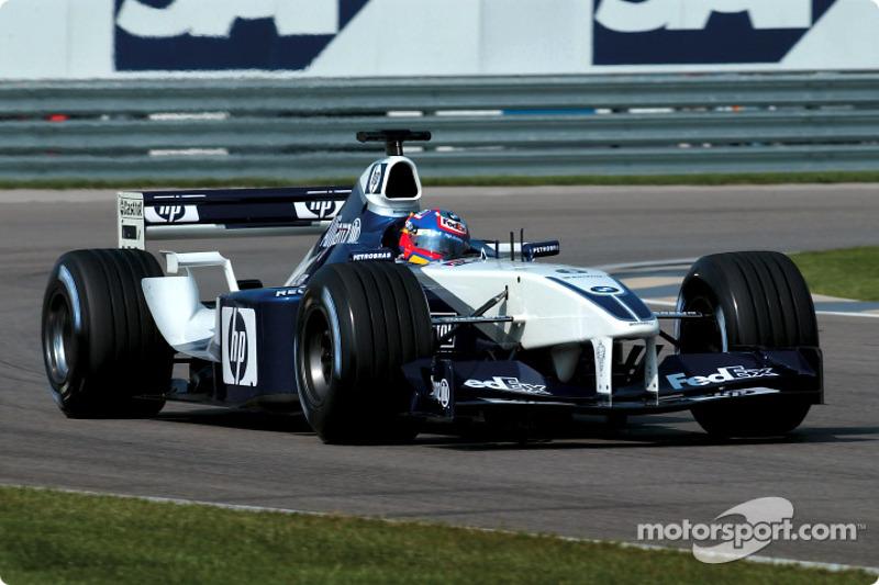 2002: 威廉姆斯FW23赛车