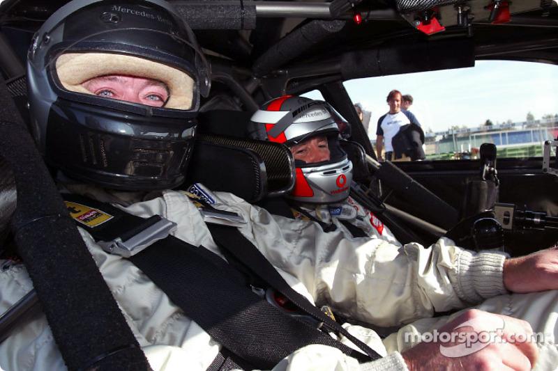 DTM media day: Bernd Schneider