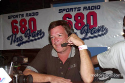 Special Olympics charity fund-raiser: motorsports reporter Doug Allan