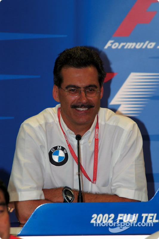 Friday press conference: Dr. Mario Theissen