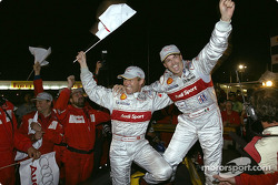 Race winners Tom Kristensen and Rinaldo Capello