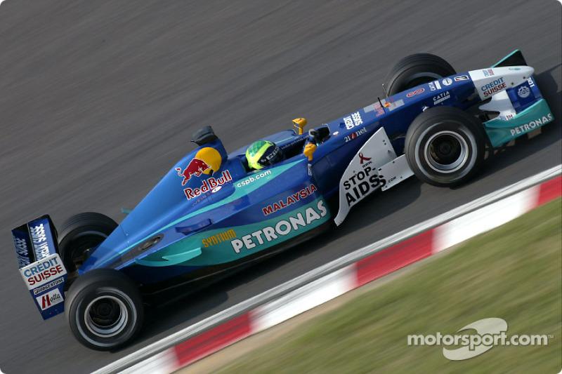 2002: Sauber C21 - Petronas (Ferrari)
