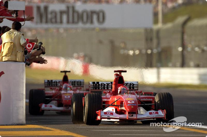 Suzuka 2002: Michael Schumacher, Ferrari F2002