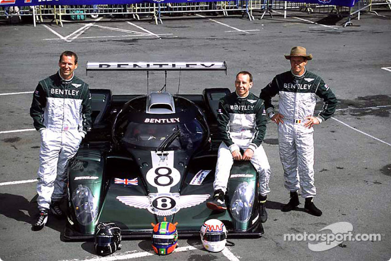 Team Bentley: Butch Leitzinger, Andy Wallace and Eric Van De Poele