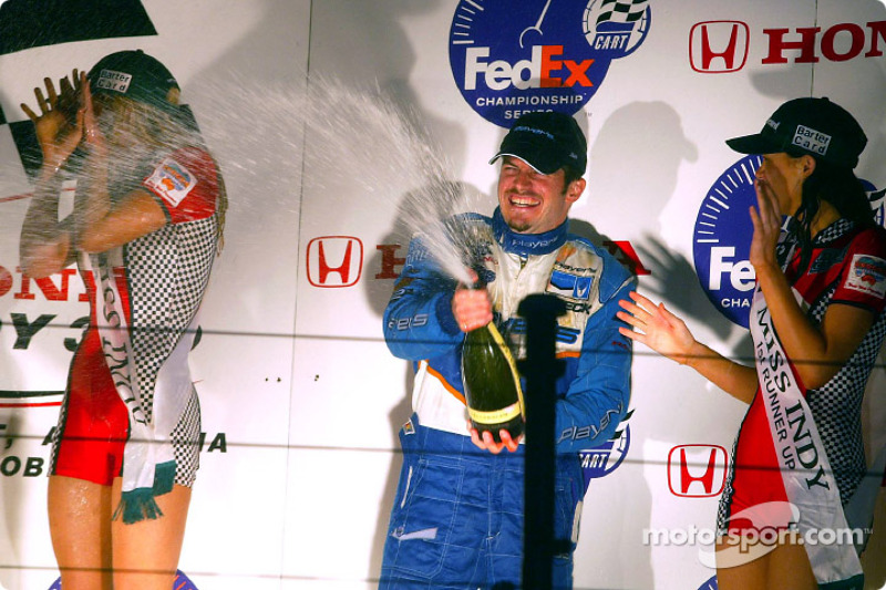 Le podium: Patrick Carpentier