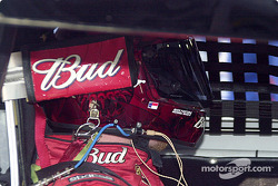 Dale Earnhardt Jr. push with a fresh tire