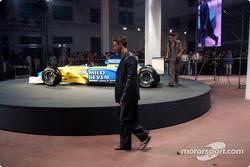 Fiesta de medios Spoon/Mild Seven RenaultF1: Jarno Trulli