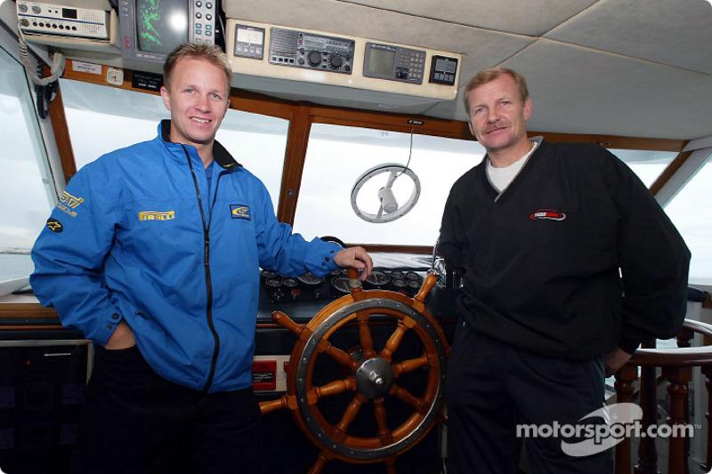 Petter Solberg y Juha Kankkunen