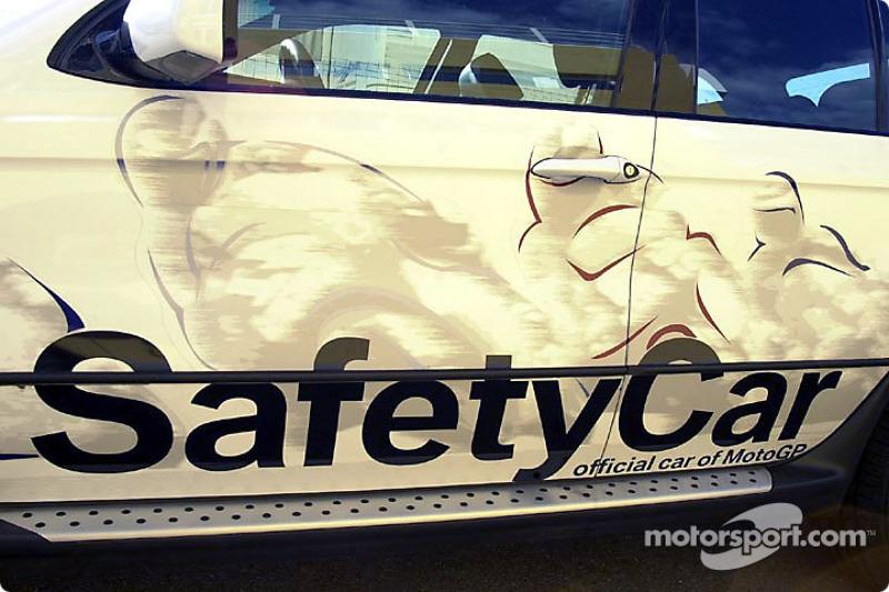 Pintura en el Safety Car