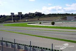 University of Valencia overlooks the track