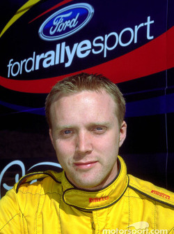 Ford Rallye Sport Junior Team co-driver Glenn Patterson