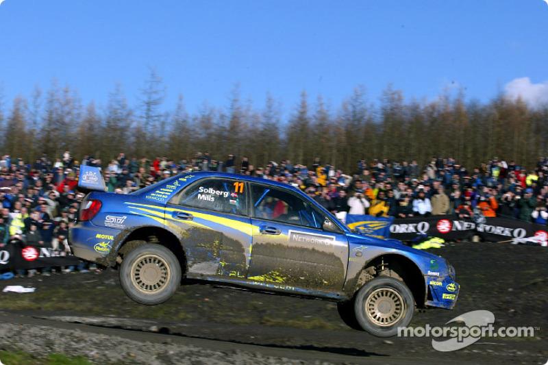 Петтер Сольберг, Subaru Impreza WRC2002