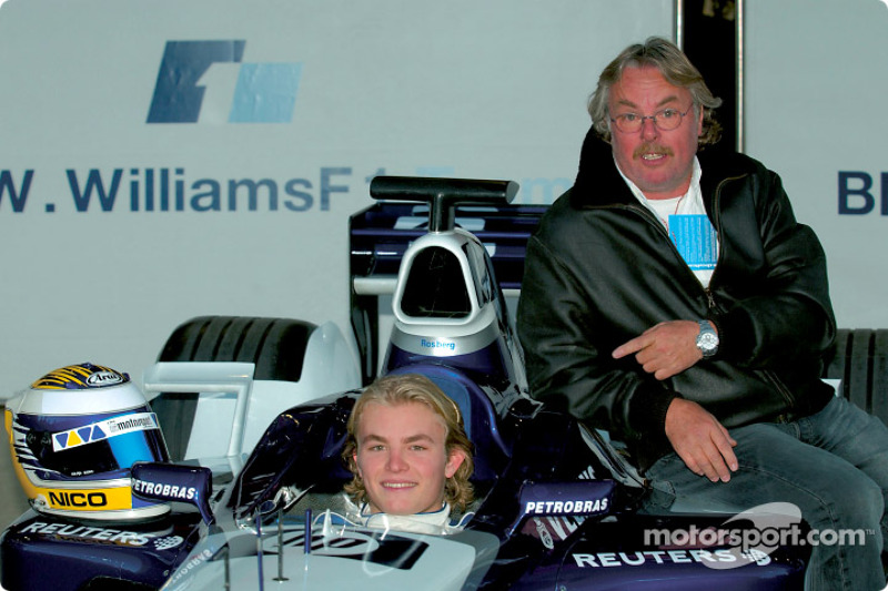 Dezember 2002: 1. Formel-1-Test und ein stolzer Vater