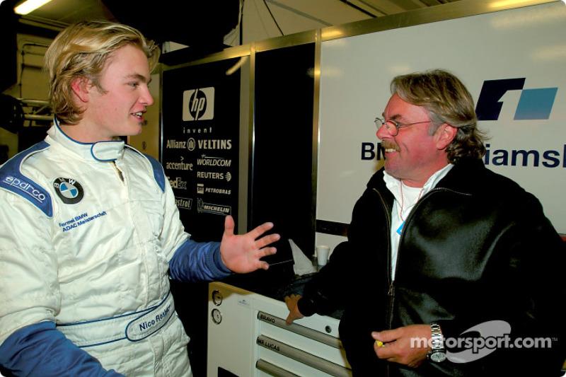 Nico Rosberg and dad Keke