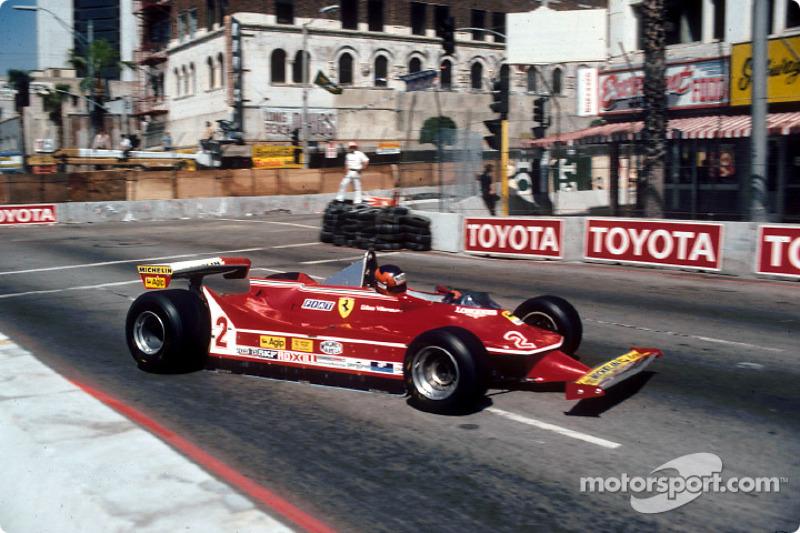 1980: Gilles Villeneuve, Ferrari 312T5
