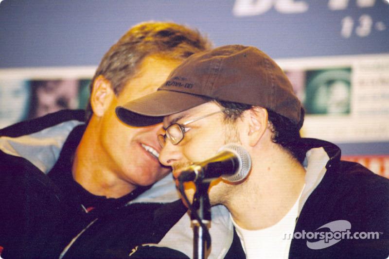 Press conference: Craig Pollock and Jacques Villeneuve