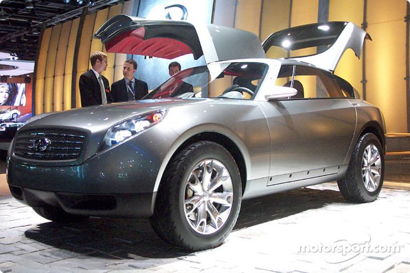 Infiniti Triant Concept At North American International Auto Show